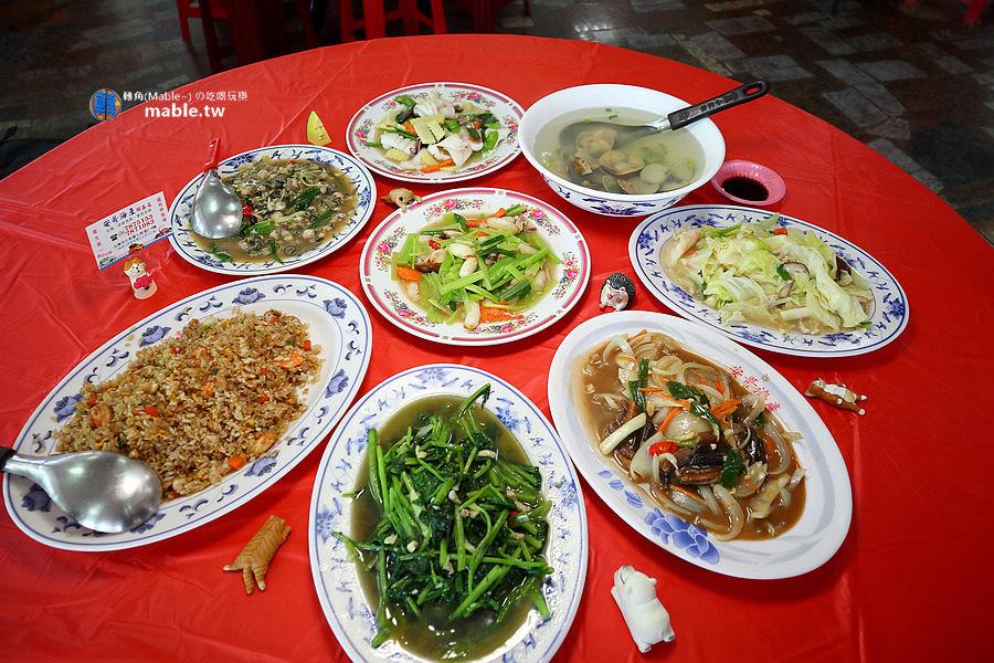 台南七股餐廳 安哥海產開基店 菜色