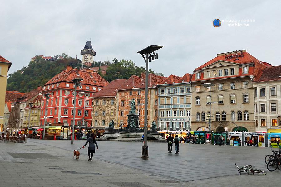 奧地利 格拉茲 城市觀光