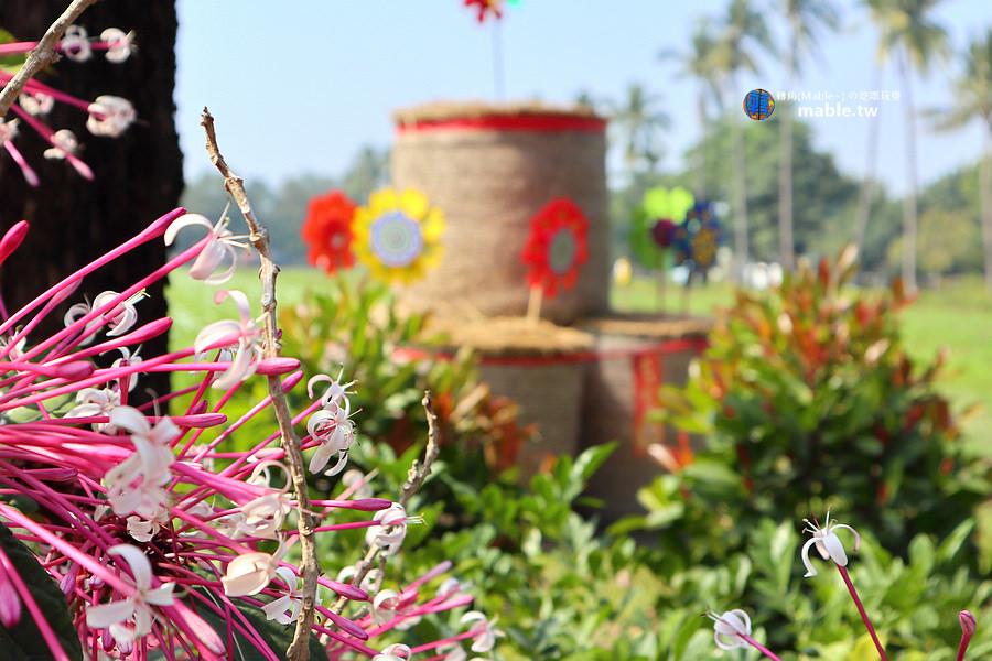 屏東下午茶 南州糖廠 白色ma-mom-mom咖啡廳 花海