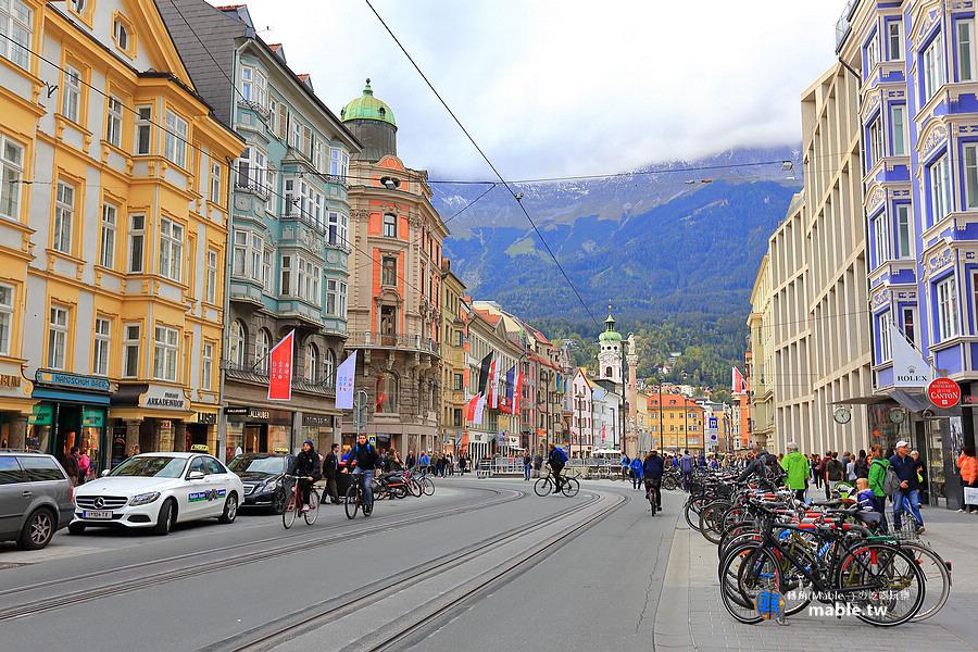 奧地利 茵斯布魯克 城市觀光