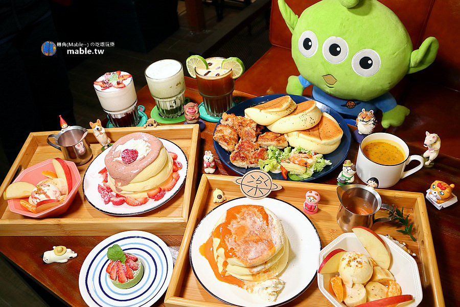 高雄岡山早午餐 樂+ 舒芙蕾鬆餅