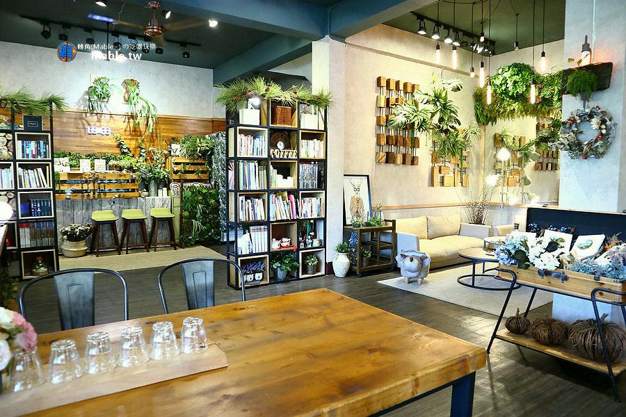 高雄下午茶 美濃咖啡廳 也香咖飛 環境
