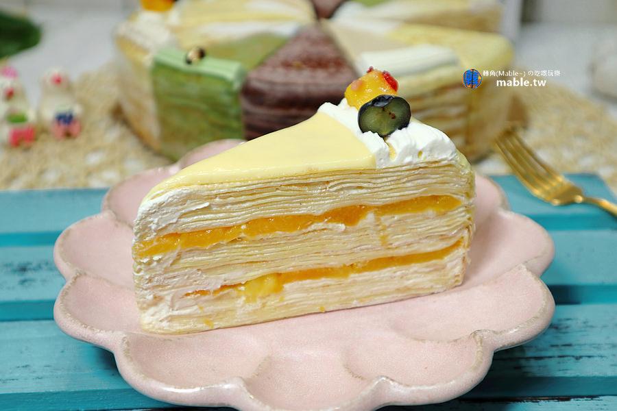 台南神秘千層蛋糕