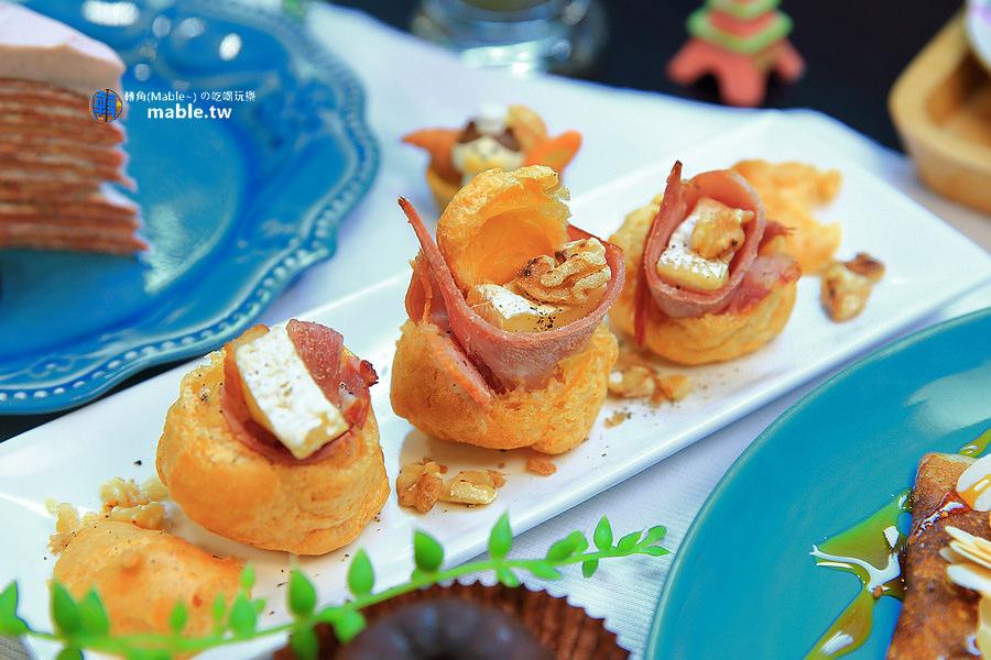 高雄美食 甜點 法式小珊蒂 小泡芙