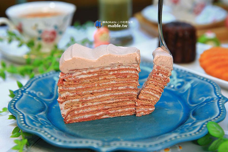 高雄美食 甜點 法式小珊蒂 千層蛋糕