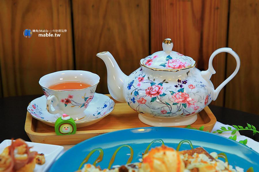 高雄美食 甜點 法式小珊蒂 德國農莊B&G有機茶