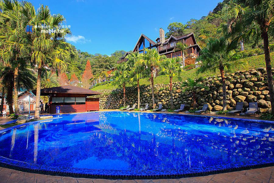 野漾莊園 新竹橫山豪華露營 泳池