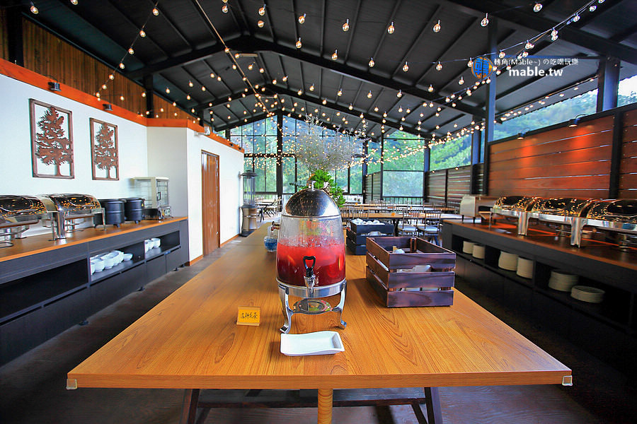 野漾莊園 新竹橫山豪華露營 餐廳