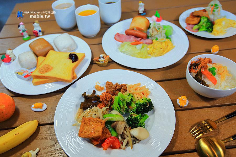 野漾莊園 新竹橫山豪華露營 早餐