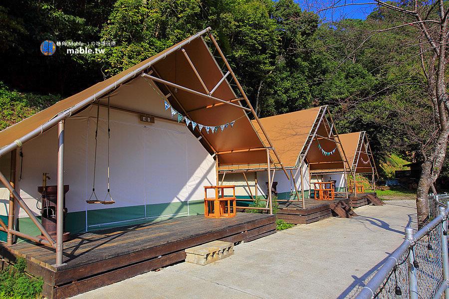 野漾莊園 新竹橫山豪華露營