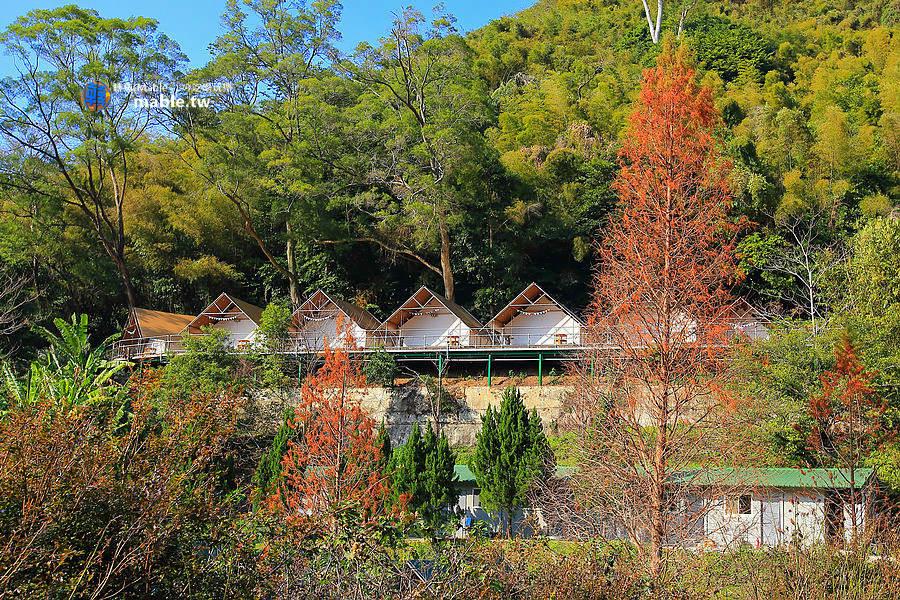 野漾莊園 新竹橫山豪華露營 環境
