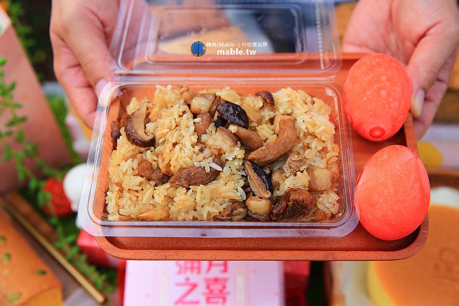 大川本鋪古早味蛋糕 高雄中山店 彌月蛋糕油飯禮盒